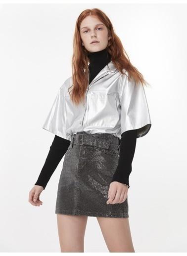 Twist Gömlek Gümüş